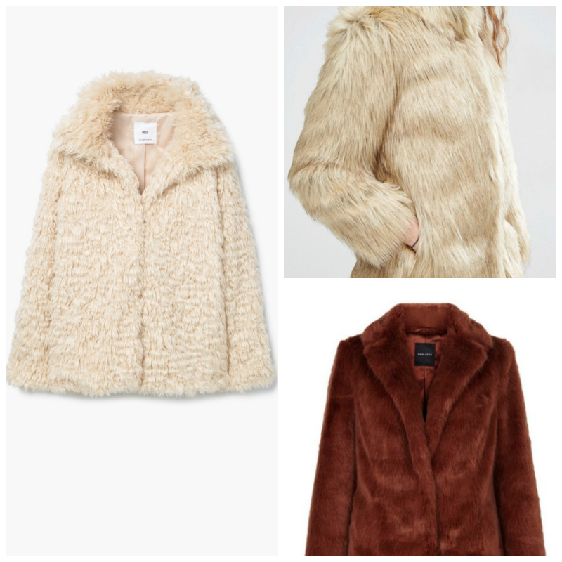 faux fur coats you need autumn