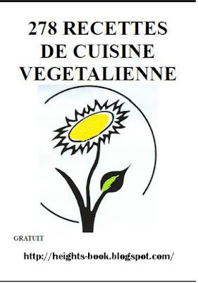 Télécharger Livre Gratuit 278 Recettes de cuisine vegetalienne pdf