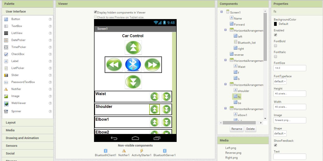 Simple app branchement