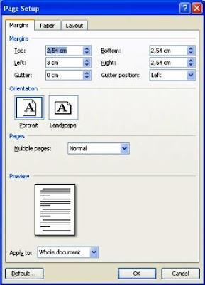Cara Membuat Border Tepi Pada Dokumen MS Word