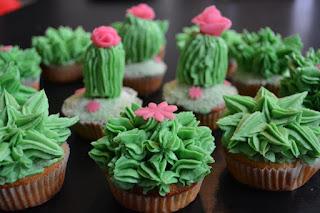 Cupcakes kaktus