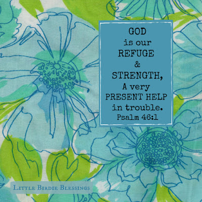 Free Pretty Blue Scripture Graphic