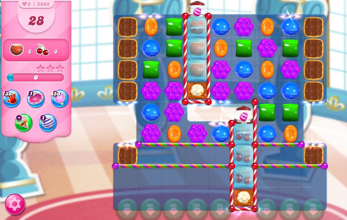 Candy Crush Saga level 5592