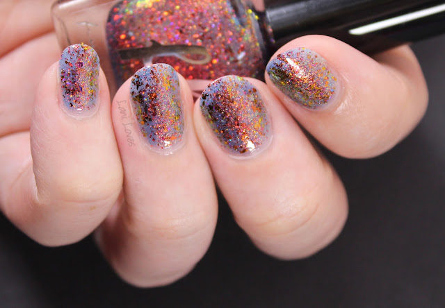 Femme Fatale Fire Lily Nail Polish Swatches & Review