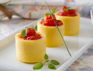 Canudo de polenta light