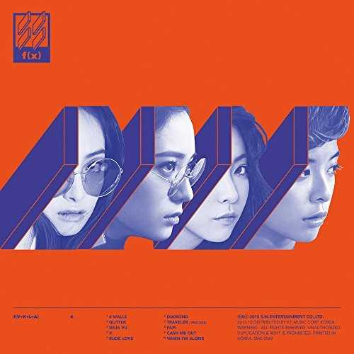 [Album] f(x) – 4 Walls (2015.10.28/MP3/RAR)