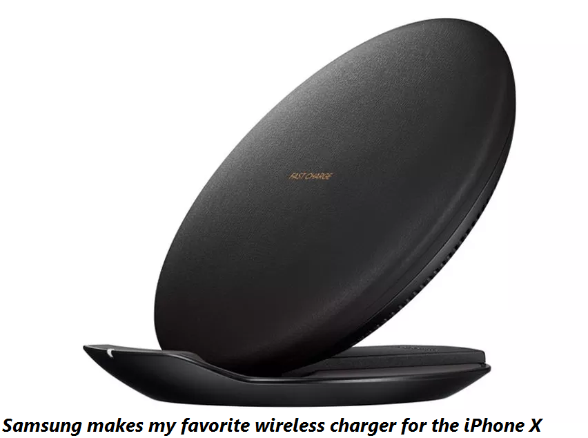 Samsung makes my favorite wireless charger