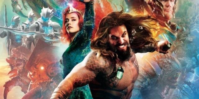 Estreia de Aquaman