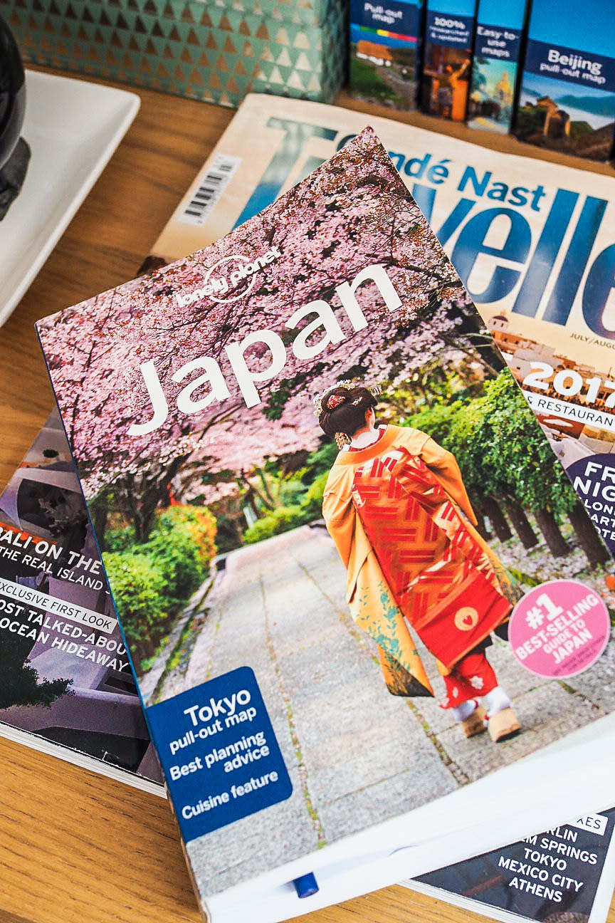 Japan Lonely Planet guide book