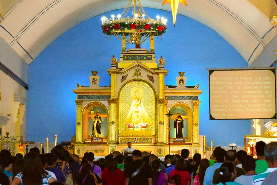 Minor Basilica of Our Lady of the Most Holy Rosary of Manaoag in Pangasinan - interior