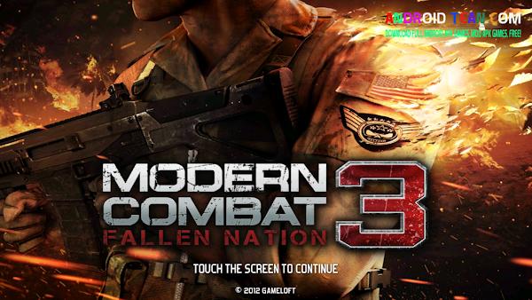 Modern Combat 3 Fallen Nation 1.1.4g Apk Mod + Data Unlimited Money