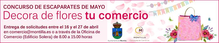 CONCURSO DE ESCAPARATES MES DE MAYO - AYUNTAMIENTO DE MONTILLA