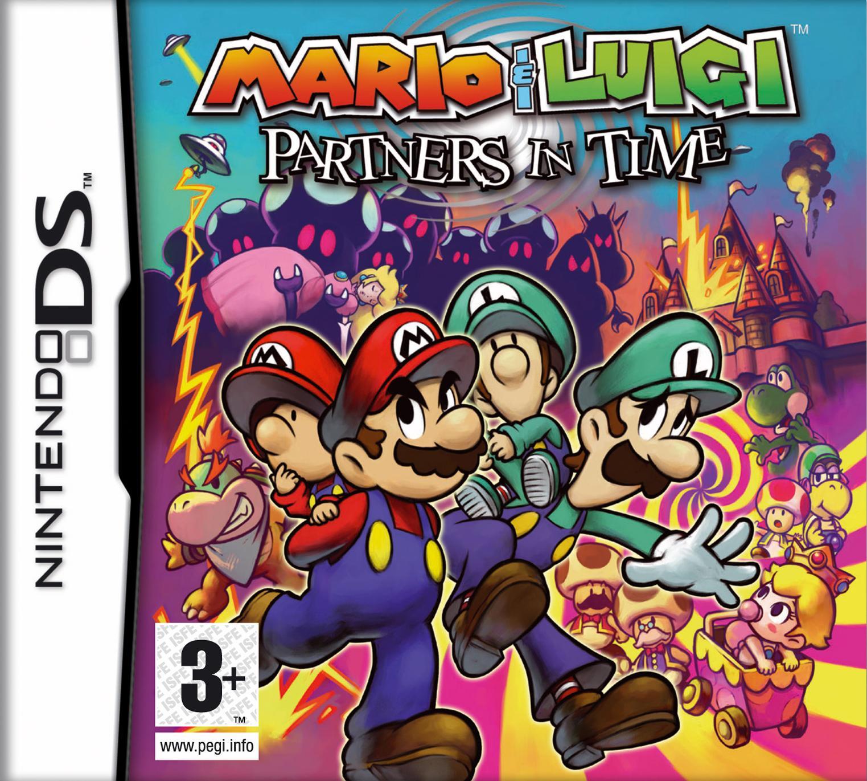 Descargar Mario & Luigi Compañeros en el tiempo nds mediafire y mega.