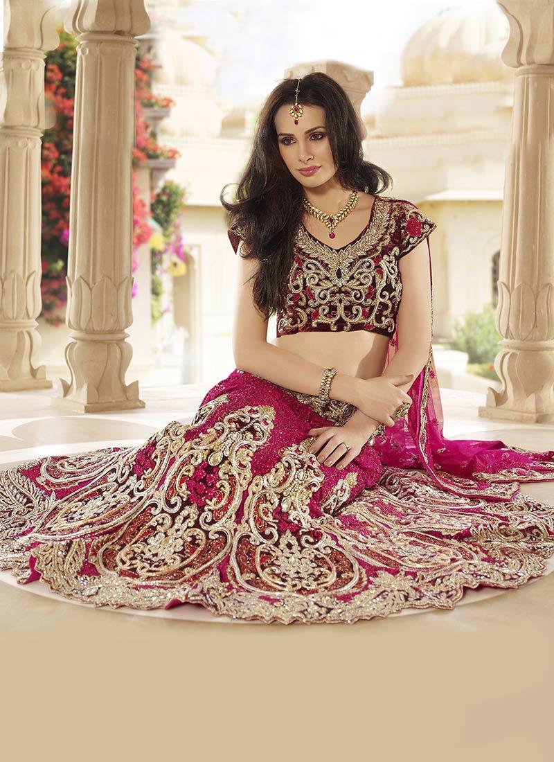 Indian Bridal Lehnga choli Collection 2013-2014 | Designer ...