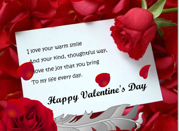 Valentine Wishes For Girlfriend