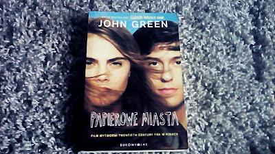 """Papierowe Miasta"" John Green"