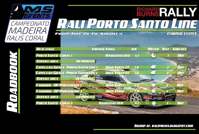 Rali Porto Santo Line