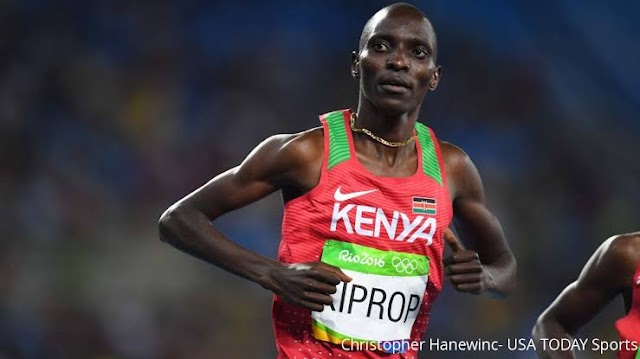 ATHLETICS: OLYMPIC GOLD MEDALIST  BANNED