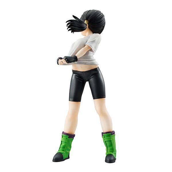 Dragon Ball tem uma controversa figura de Videl exaltando seus seios e bumbum.
