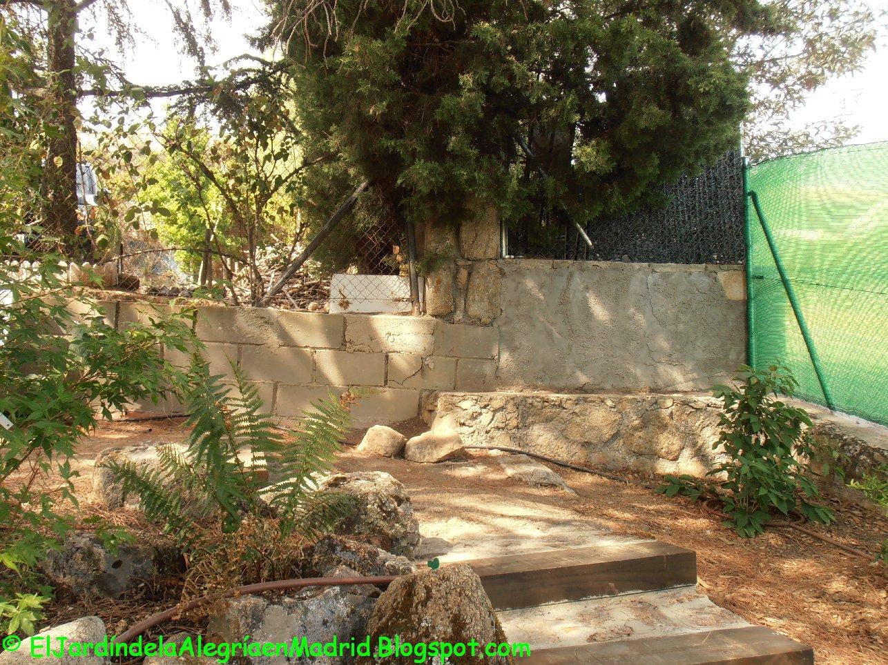 El jard n de la alegr a c mo instalar una valla met lica for Cancion el jardin de la alegria