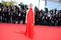 Rosie Huntington-Whiteley sexy best red carpet dresses 2016 cannes film festival