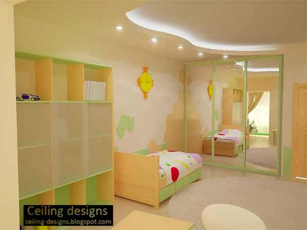 curved ceiling design for kids room with ceiling lighting childrens room lighting