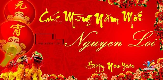 Nguyên Lợi chúc mừng năm mới