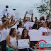 Centenas de pessoas foram as ruas  de Porto Seguro pedir PAZ