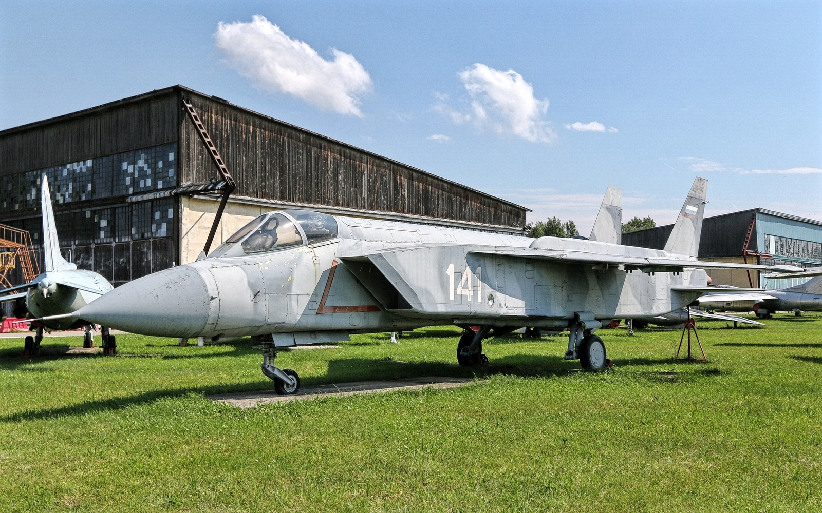 Yakovlev Yak-141 VTOL Supersonic Jet Fighter