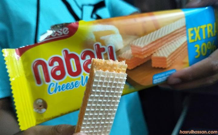 Sedapnya Biskut Wafer Cheese Nabati Ni ...