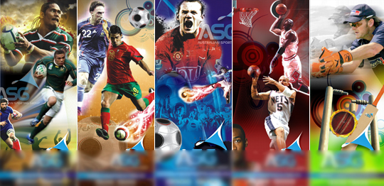 Τα αθλητικά στην τηλεόραση.