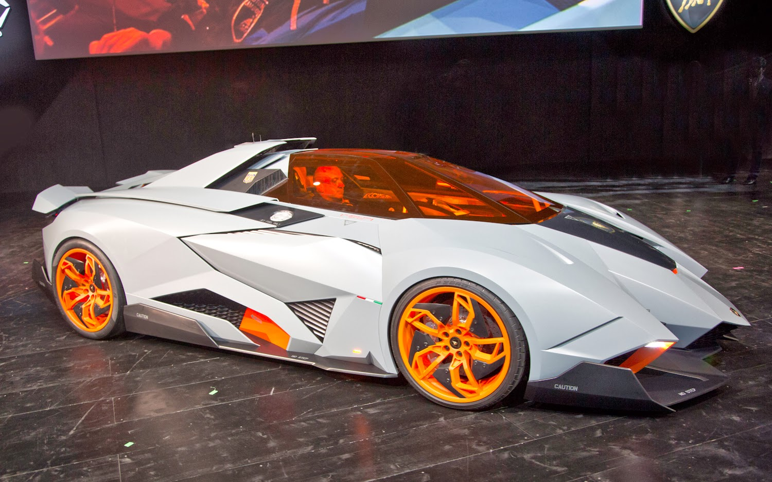 HD Cars Wallpapers: Lamborghini Egoista