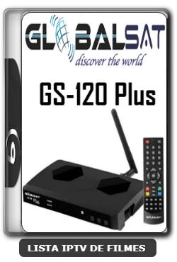 Globalsat GS120 Plus Nova Atualização Melhorias no Sistema V1.44 - 23-01-2020