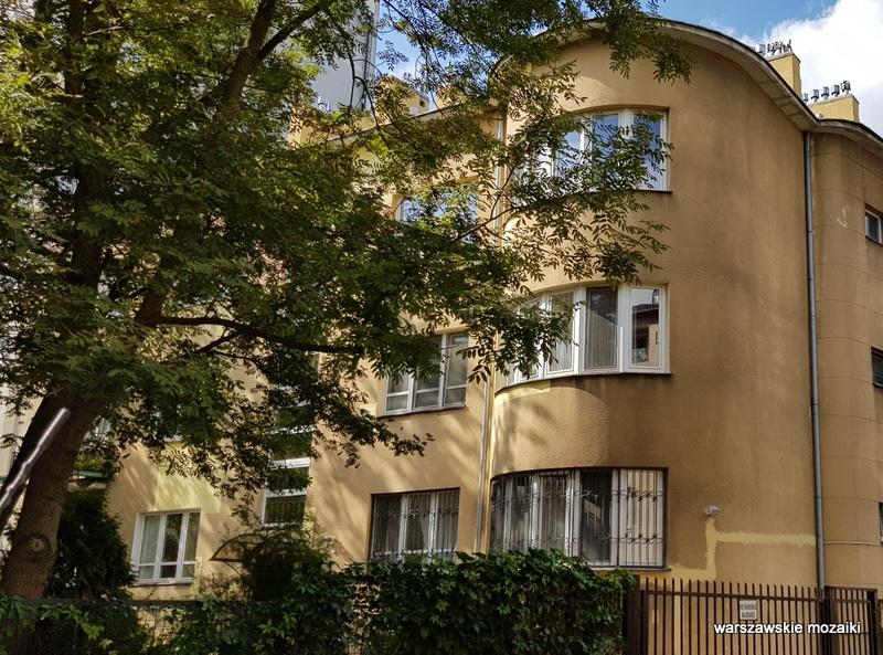 Warszawa Warsaw Saska Kępa Praga Południe ulice Saskiej Kępy modernizm funkcjonalizm architektura willa