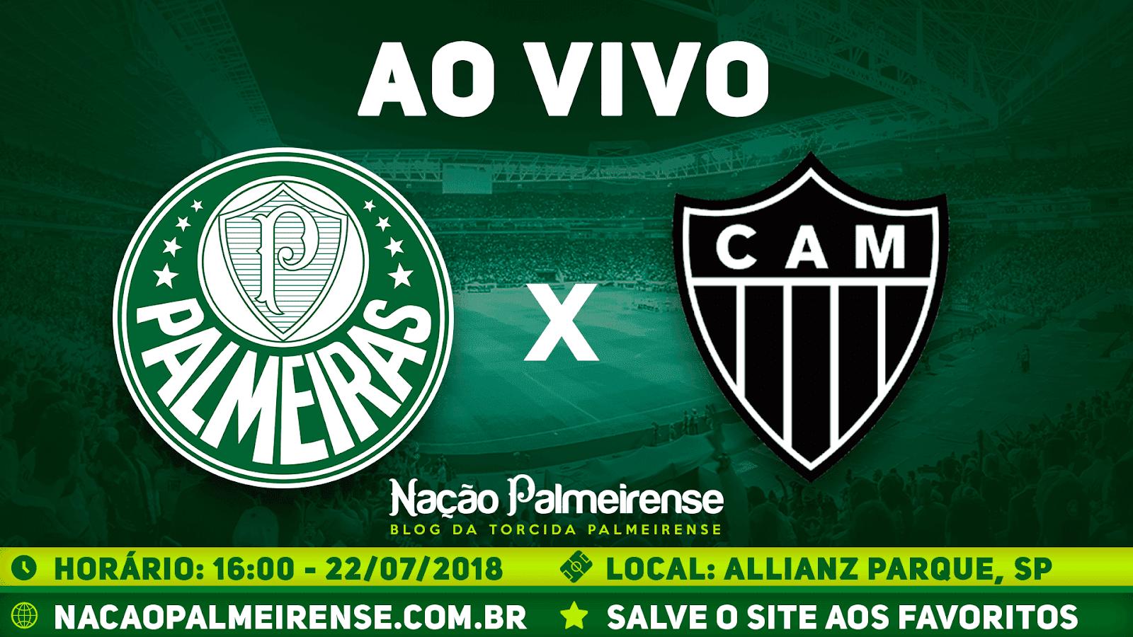 Assistir Palmeiras x Atlético-MG Ao Vivo