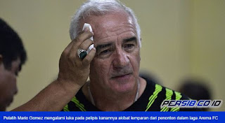 Gomez: Persib Harusnya Menang, Soal Rusuh Aremania Tunggu Sikap Komdis PSSI