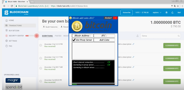 bitcoin money adder aktyvinimo kodas)