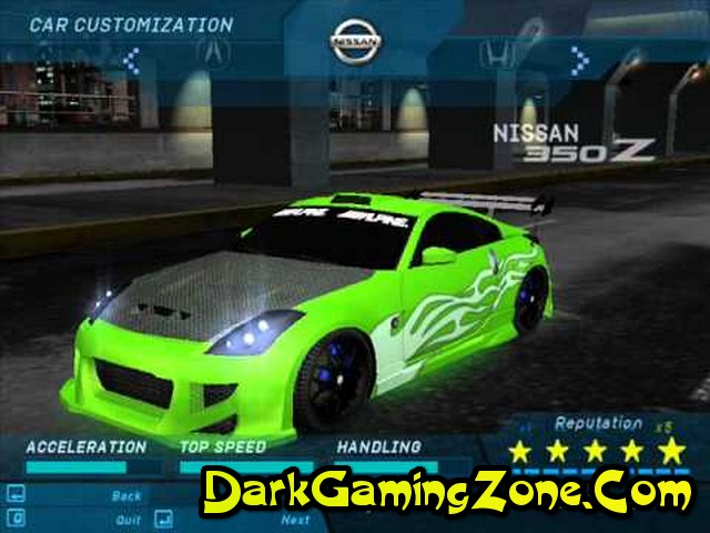 Download Need For Speed Underground 1 Pc Full Version Free