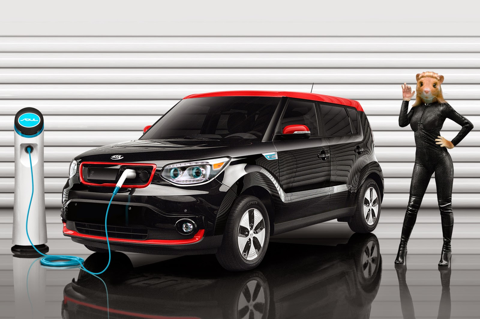 Kia Soul Ev Animals By Maroon 5