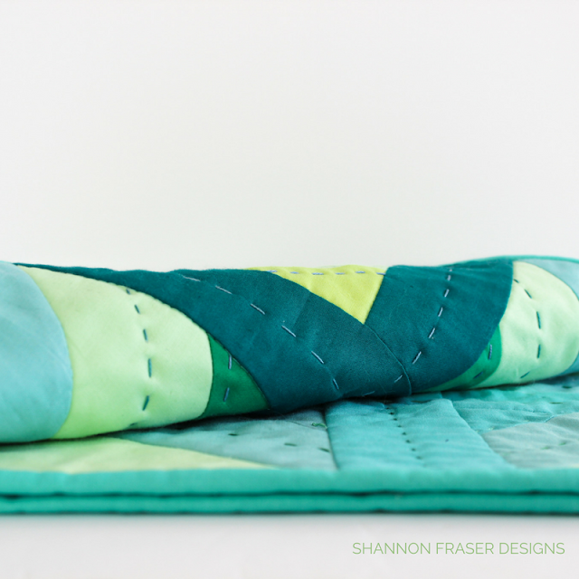 Plus Infinity Mini Quilt Pattern | Quick & Easy Weekend Project | Shannon Fraser Designs | Modern Quilt Pattern | DIY | Quilted Wall Hanging | Baby Quilt