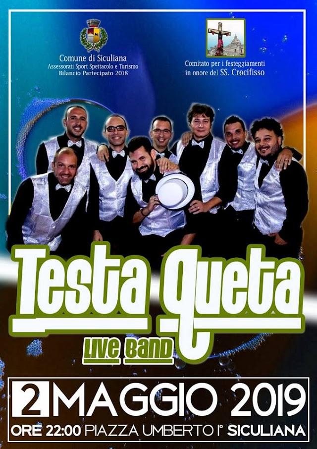 2 maggio - Concerto dei Testaqueta live band