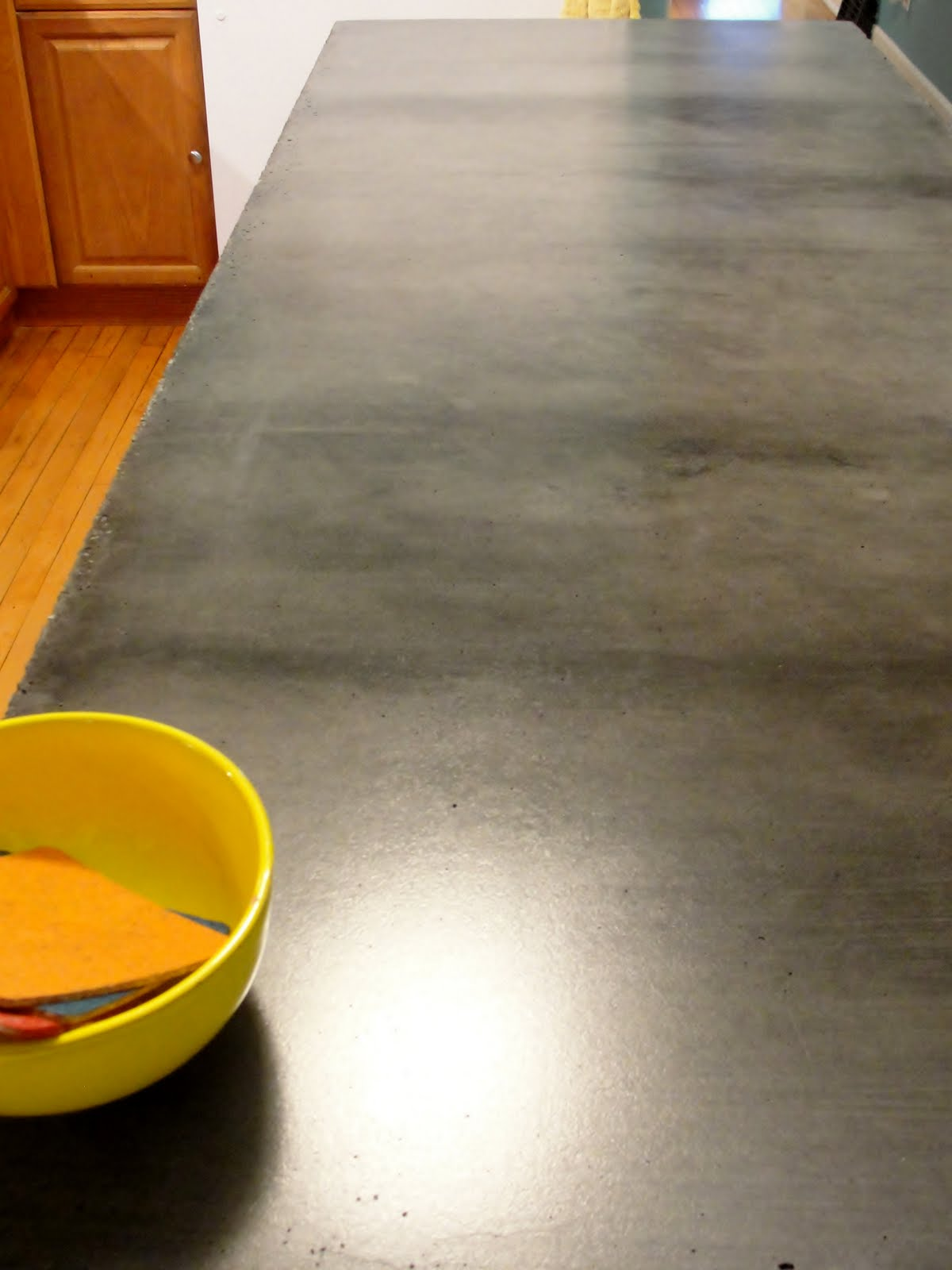 Finished Concrete Countertops Apartment 528 The Ultimate Weekender Diy Concrete