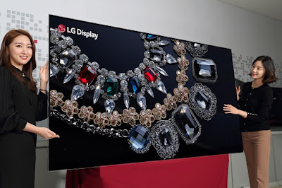 LG to showcase world's first 88-inch 8K OLED display next week on CES T4SKY TESH NEWS