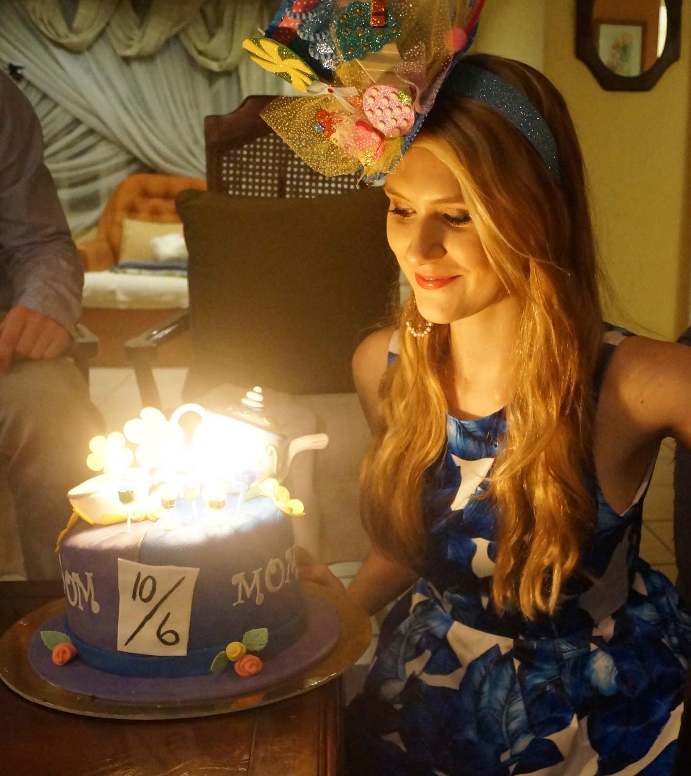 Cute Alice in Wonderland Birthday party