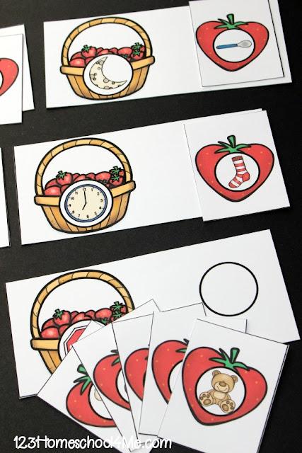 strawberry-rhyming-activity-preschool