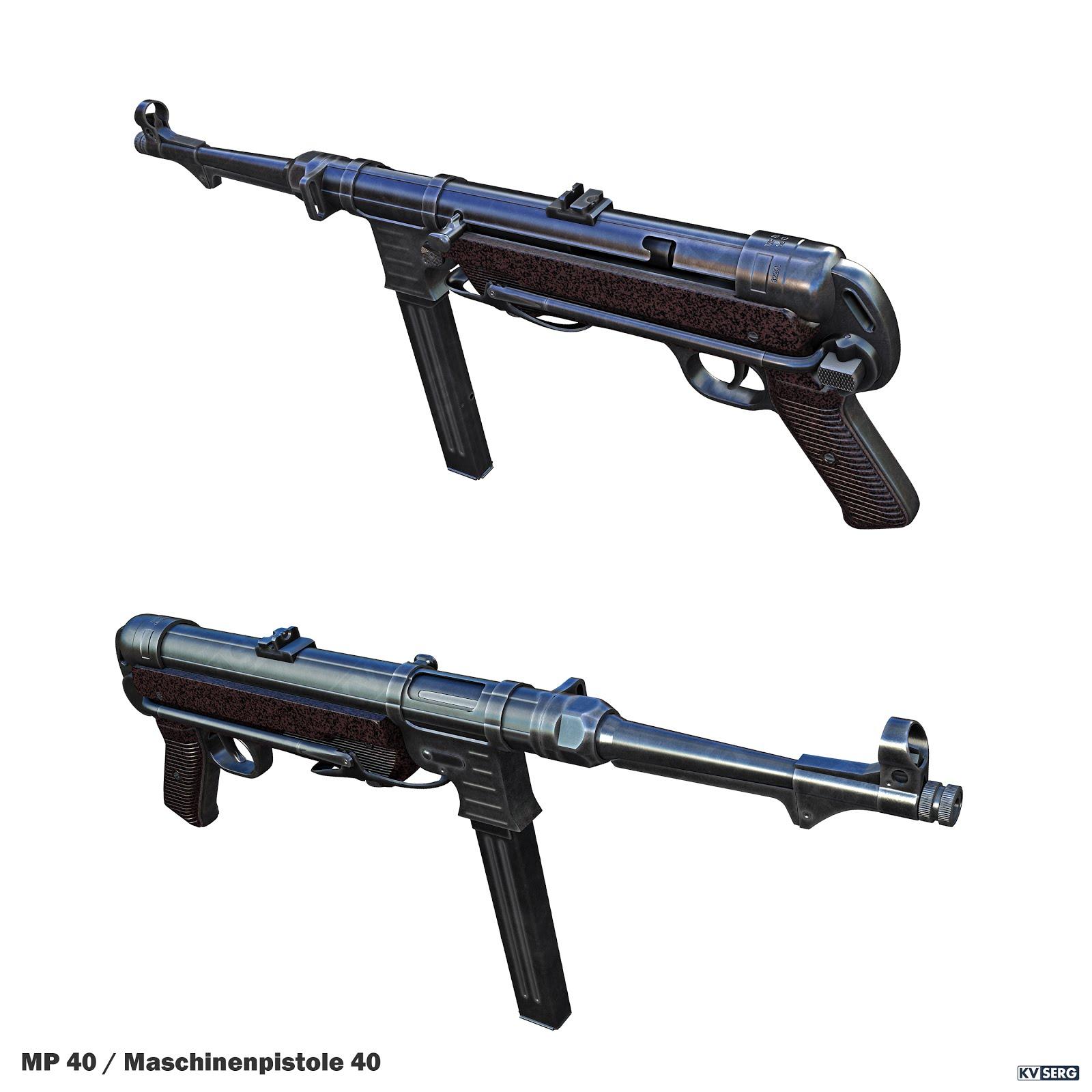 KVSERG ART: MP-40