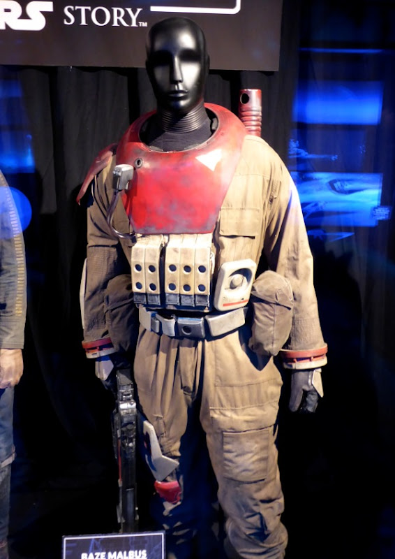 Rogue One Baze Malbus film costume