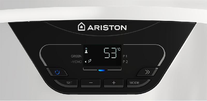 scaldacqua elettrico con tecnologia ibrida in classe A di Ariston