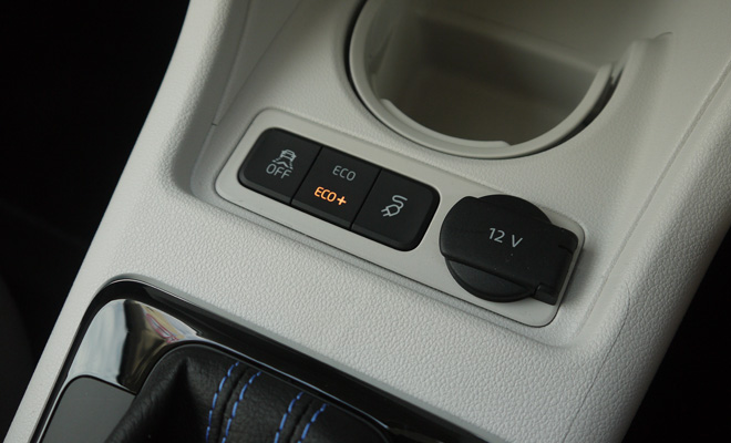 Volkswagen e-Up mode button