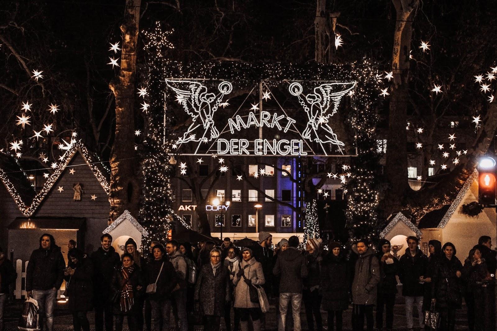 Cologne Germany Markt der Engel